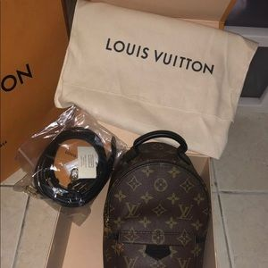 Women's small Louis Vuitton Backpack Brand New